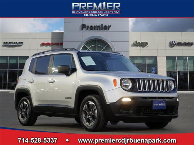 Certified Pre-Owned 2017 Jeep Renegade Sport